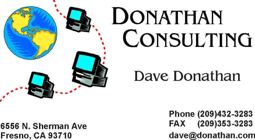Donathan consulting business card examples example reheart Choice Image